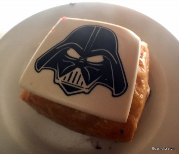 Close-up on Darth Vader Danish