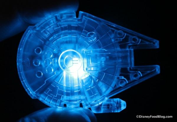 Millennium Falcon Glow Cube