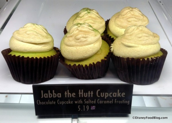 Jabba the Hutt Cupcakes at Starring Rolls