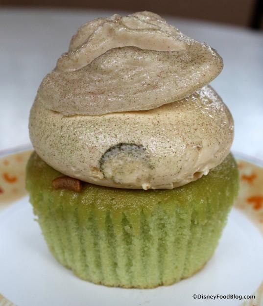Jabba the Hutt Cupcake