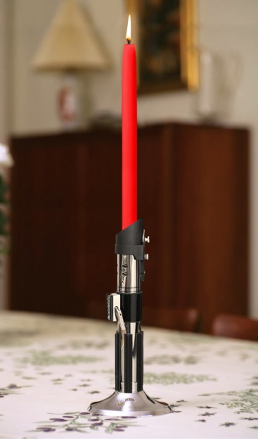 Darth Vader Light Saber Candlestick