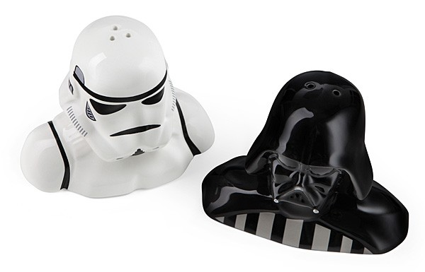 May the fourth be with you star wars merch on sale - Darth vader and stormtrooper salt and pepper shakers ...