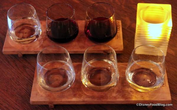 The Grand Tour Wine Flight