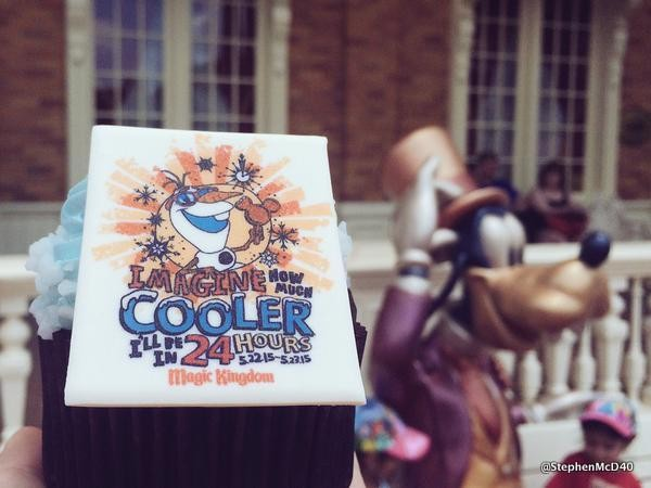 Coolest Summer Ever cupcake