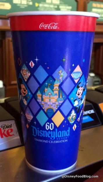 Disneyland Diamond Anniversary Cup