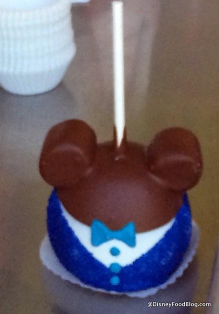 Diamond Anniversary Mickey Candy Apple