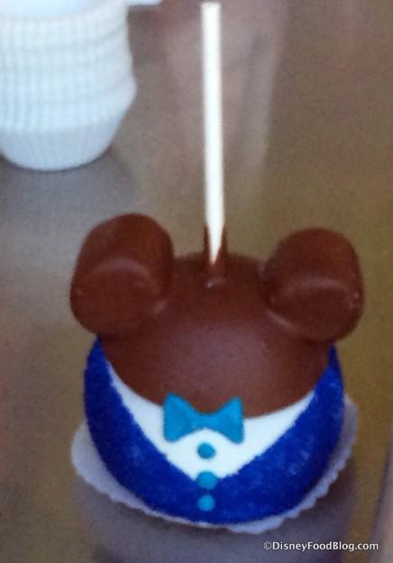 Diamond Celebration Mickey Candy Apple