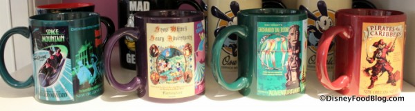 Vintage Attraction Poster Mugs