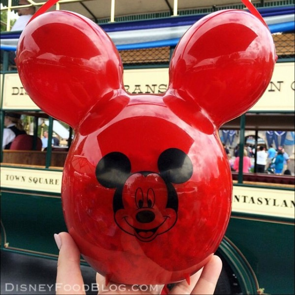 Disneyland Balloon Popcorn Bucket
