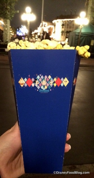 Diamond Celebration Popcorn Box