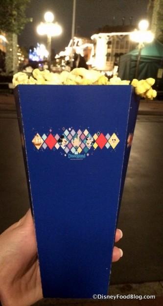 Diamond Celebration Popcorn Box