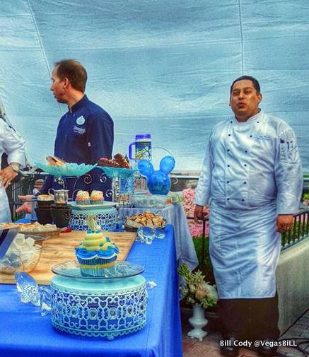 Diamond Celebration Food Display