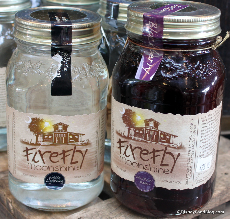 Fun Find Flavored Moonshine In Epcot The Disney Food Blog