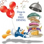 2018 Disney World Free Dining Offer for Disney Visa Cardholders