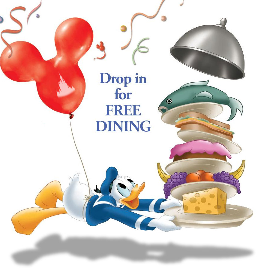 Free disney dining plan 2016 dates - Free dining