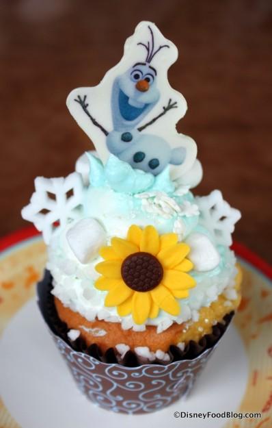 Anna's Happy Birthday Cupcake