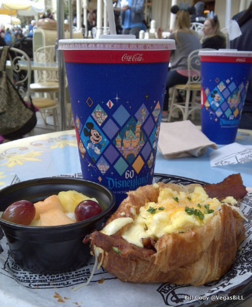 Egg and Bacon Croissant at Jolly Holiday Bakery Cafe