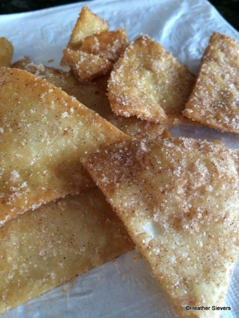 Cinnamon Crisp Close Up