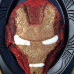 Dining in Disneyland: the IRON MAN Waffle at Pizza Port