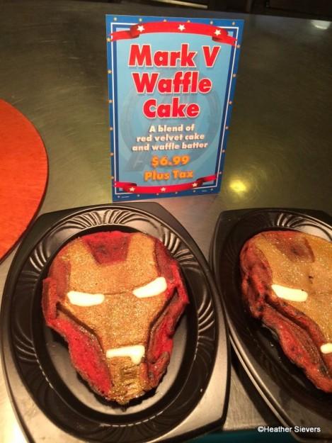 Iron Man Waffle Cake