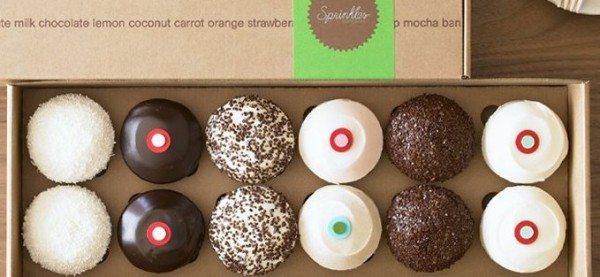This is a photo from Sprinkles' facebook page because cupcakes don't last long enough in my house to be photographed.