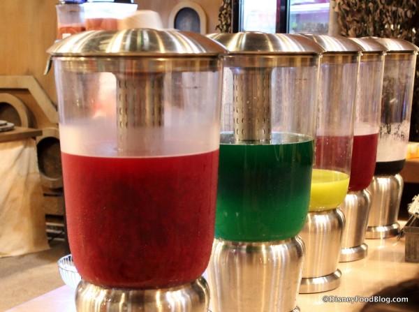 Cocktail mixes at Tusken Fridge Raiders