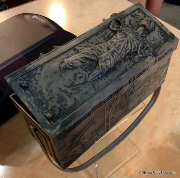 Han Solo in Carbonite Popcorn Bucket