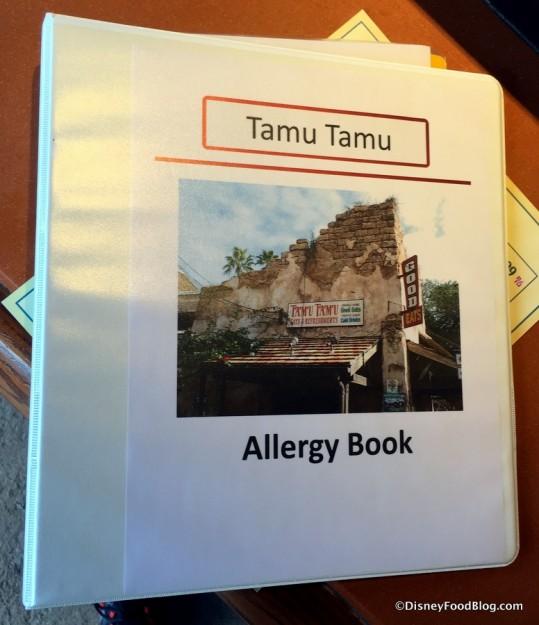 Tamu Tamu Allergy Book