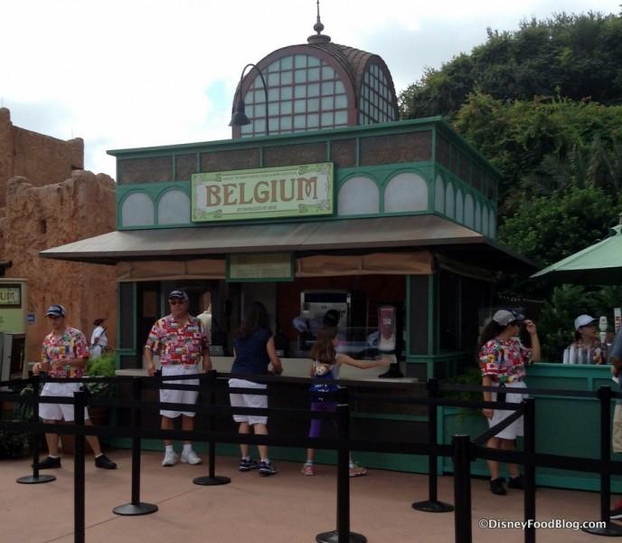 Belgium Booth