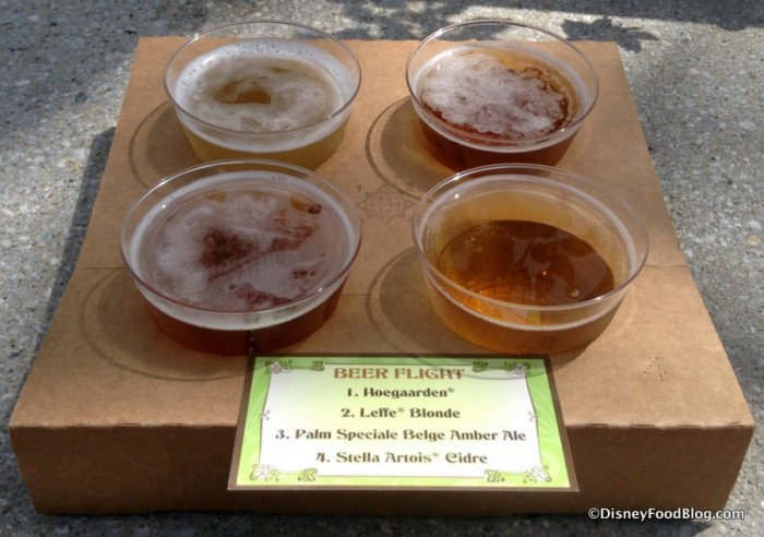2015 Beer Flight