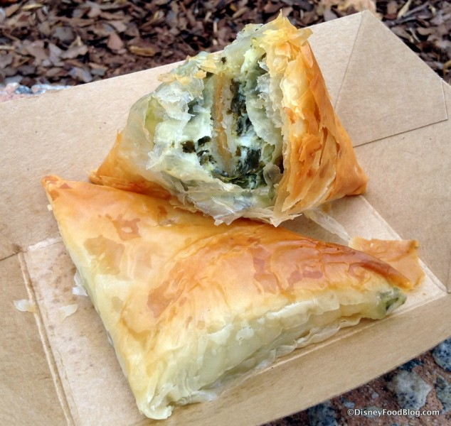 Spanakopita Cross-Section