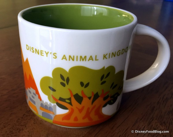 "Starbucks Animal Kingdom ""You Are Here"" Mug out of the Box"