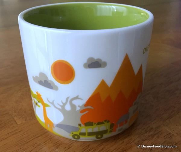 "Starbucks Animal Kingdom ""You Are Here"" Mug -- Another View"