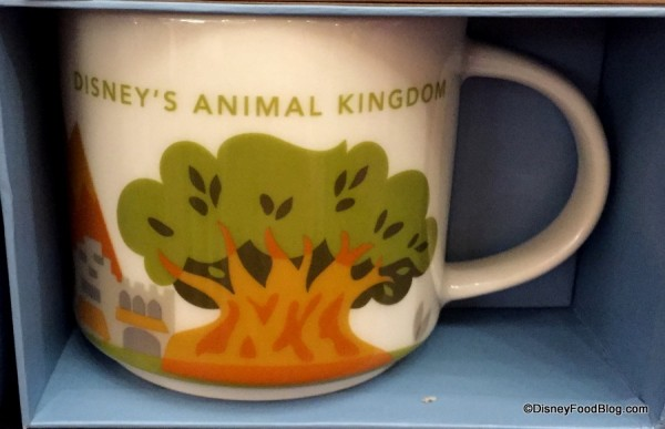 Tree of Life is on the AK Starbucks mug