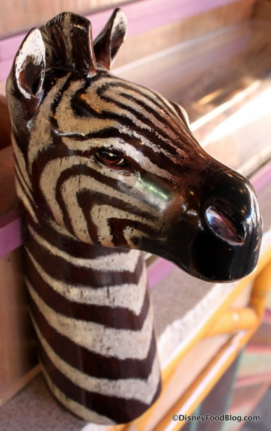 Zebra carving