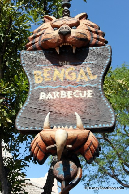 Bengal Barbecue sign