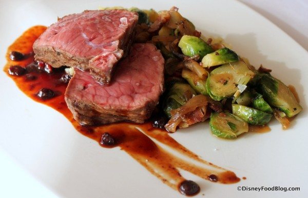 Bison Strip Loin at California Grill