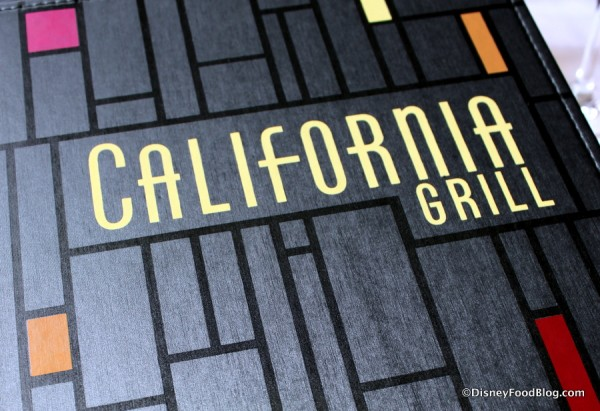 California Grill Sign