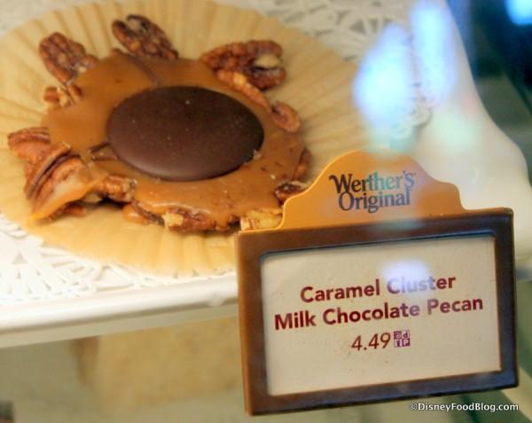 Caramel Cluster Milk Chocolate Pecans