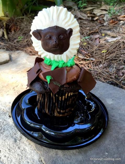 Cotton Top Tamarin Cupcake