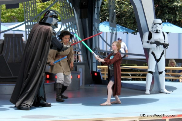 Jedi Training Academy in action