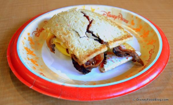 Pop Tart Breakfast Sandwich