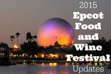 Epcot Food & Wine Festival Updates
