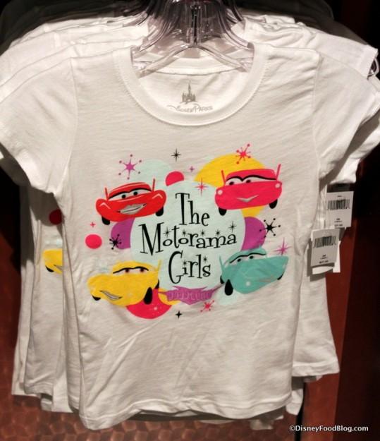 Motorama Girls t-shirt
