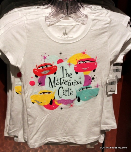 Motorama Girls t-shirt