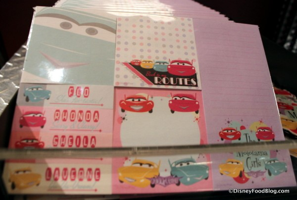 Motorama Girls note pads