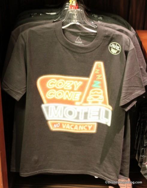 Cozy Cone Motel guys t-shirt