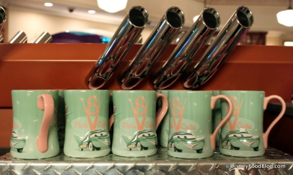 Flo's V-8 Café Mugs