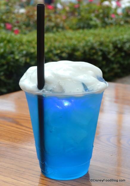 Frozen Blue Daydream