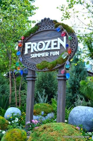 Frozen Summer Fun Sign